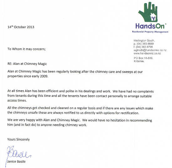 HandsOn Residential Property Management testimonial