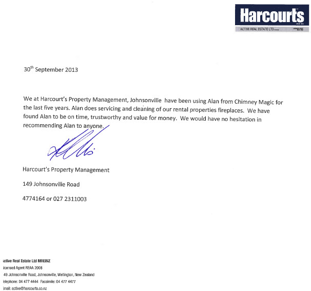 Harcouts Property Management Testimonial